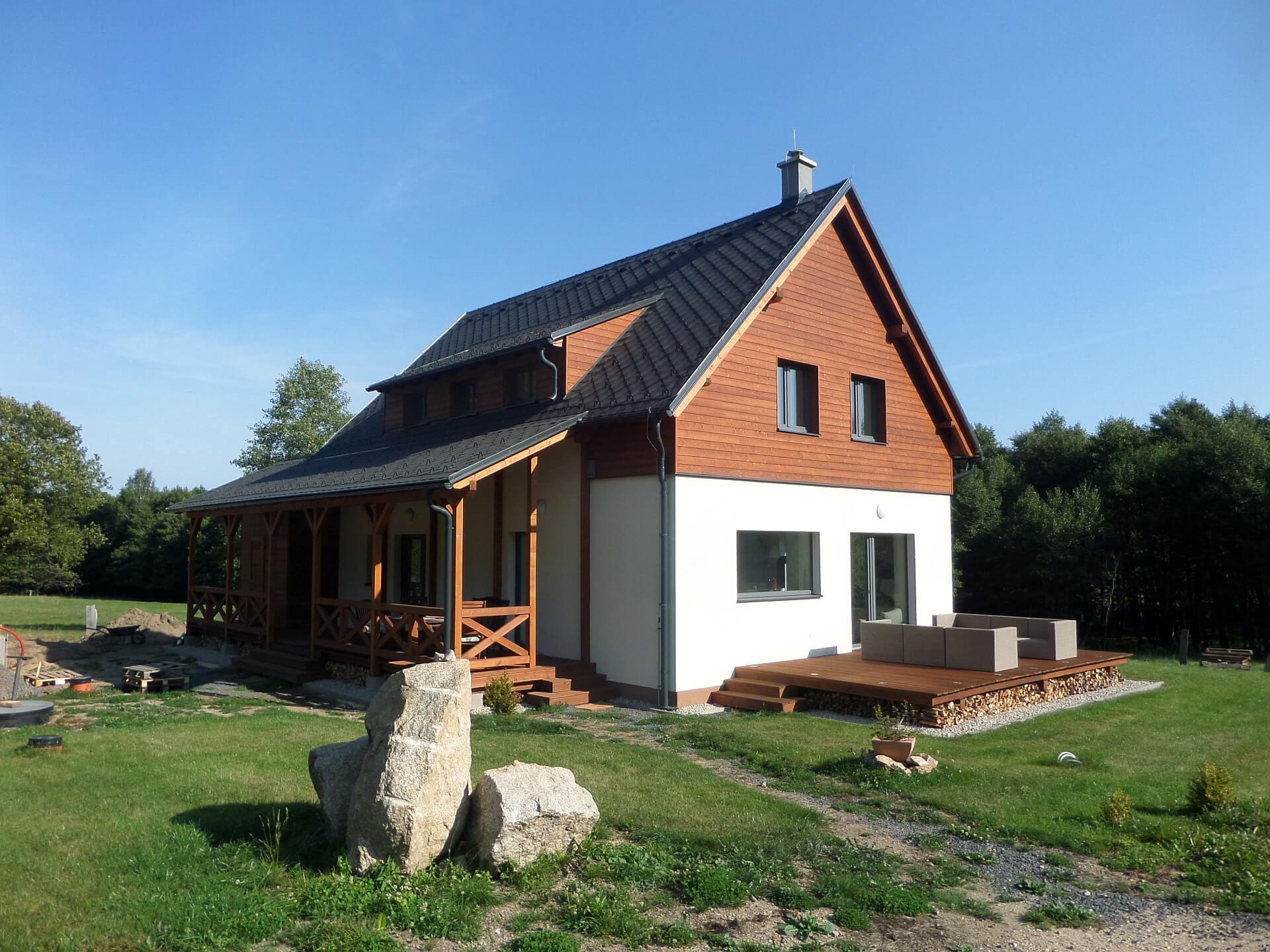 Energeticky úsporný dům Pod Ořešníkem