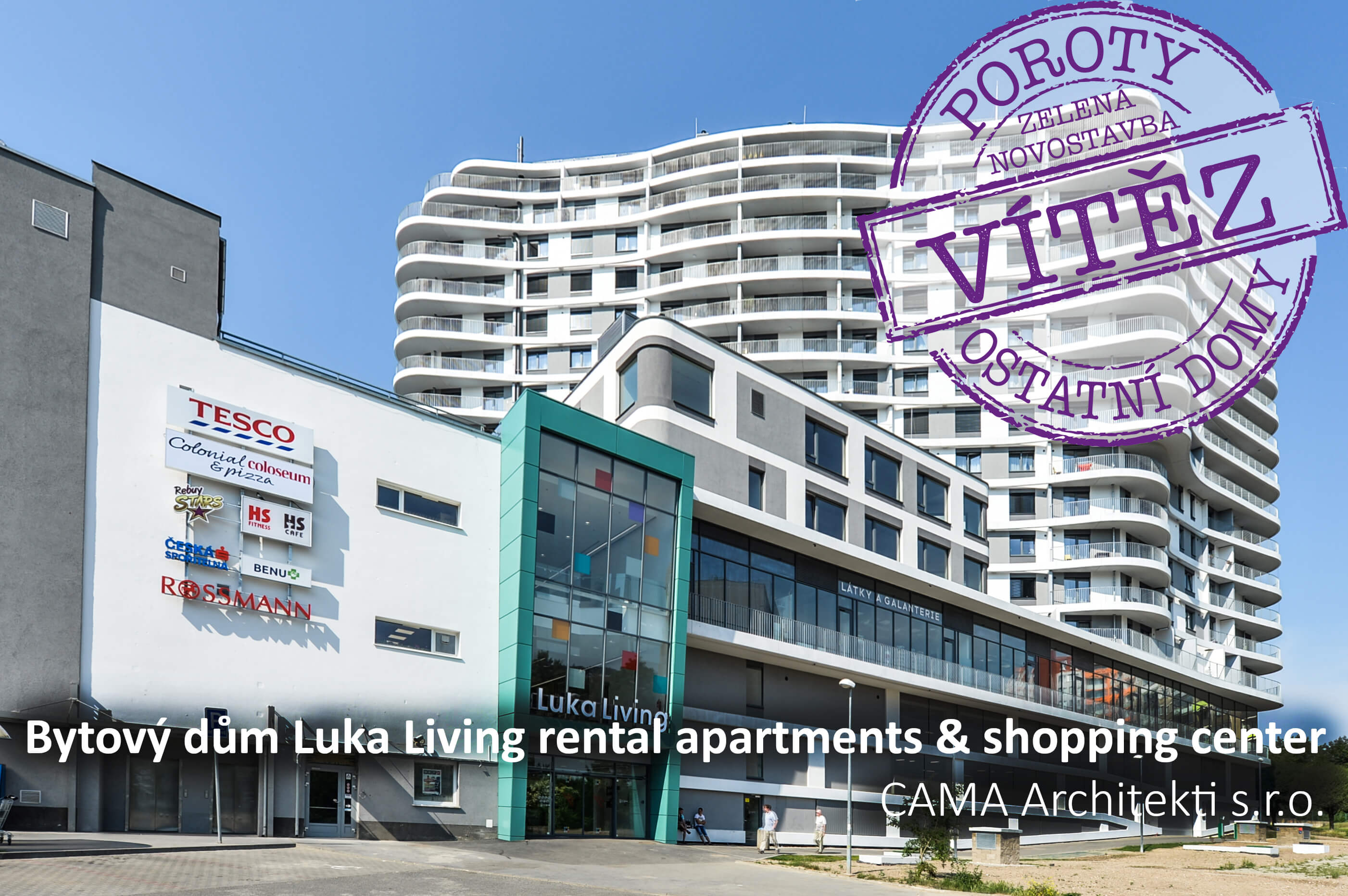 Luka Living rental apartments & shopping center